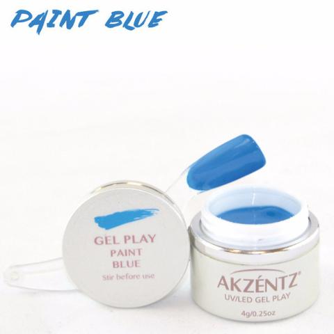 Gel Play Paint - Blue