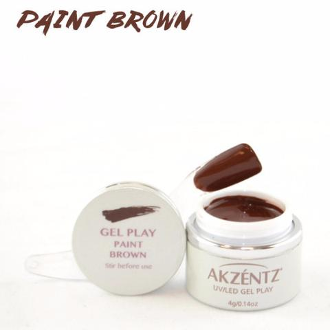 Gel Play Paint - Brown