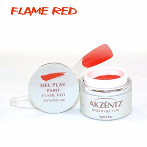 Gel Play Paint - Flame Red