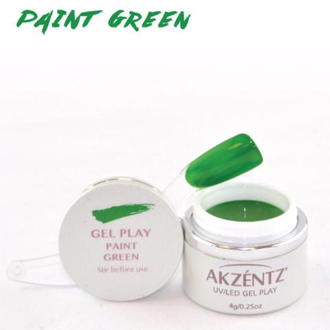 Gel Play Paint - Green