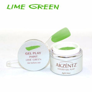 Gel Play Paint - Lime Green