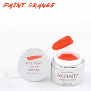 Gel Play Paint - Orange