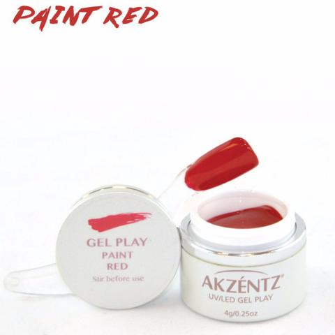 Gel Play Paint - Red