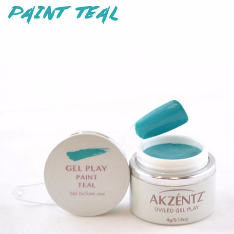 Gel Play Paint - Teal