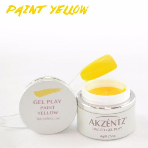 Gel Play Paint - Yellow