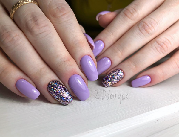 Gel Play Glitter Crush: Purple