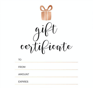 Polished Pinkies Pro Gift Certificate