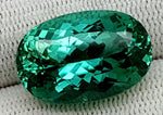 22.89 CT GREEN SPODUMENE GEMSTONE IGCNESP02