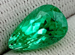 7 CT GREEN SPODUMENE GEMSTONE IGCNESP63