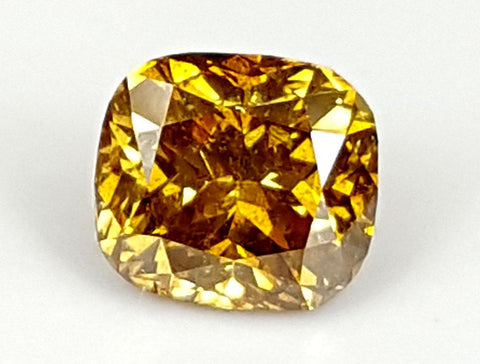 0.55CT DIAMOND YELLOW COLOR NATURAL COLLECTION PIECE IGCDM03