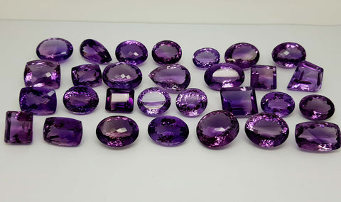 864CT NATURAL AMETHYST WHOLESALE PARCEL IGCAMPR02 - imaangems17