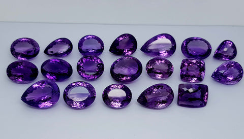 598CT NATURAL AMETHYST WHOLESALE PARCEL IGCAMPR04 - imaangems17