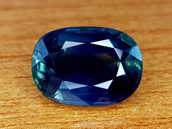 CERTIFIED 4.43CT BLUE GREEN SAPPHIRE BEST QUALITY GEMSTONE - imaangems17