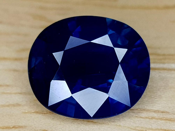 CERTIFIED 2.99CT BLUE SAPPHIRE BEST QUALITY GEMSTONE - imaangems17