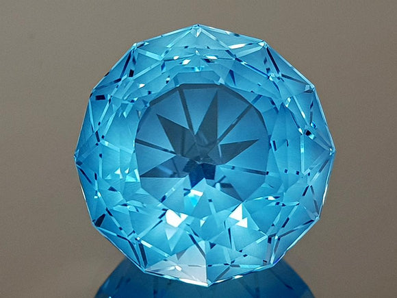 28.16CT NATURAL BLUE TOPAZ PRECISION CUT IGCTPP01 - imaangems17