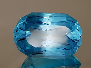 22.47CT NATURAL BLUE TOPAZ PRECISION CUT IGCTPP07 - imaangems17