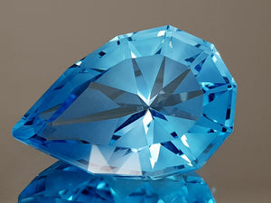 20.35CT NATURAL BLUE TOPAZ PRECISION CUT IGCTPP13 - imaangems17