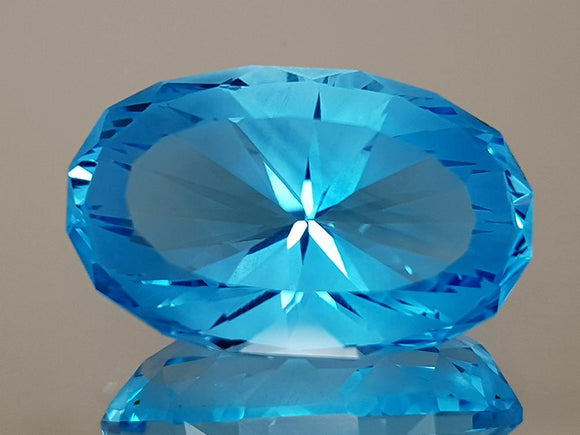 23.59CT NATURAL BLUE TOPAZ PRECISION CUT IGCTPP18 - imaangems17