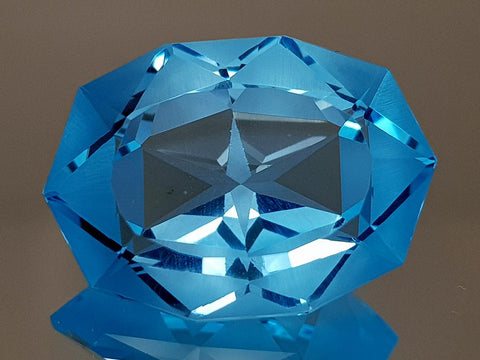 20.17CT NATURAL BLUE TOPAZ PRECISION CUT IGCTPP19 - imaangems17