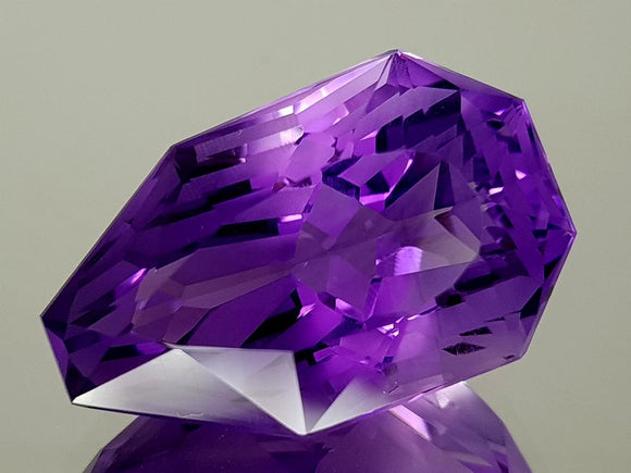 24.47CT NATURAL AMETHYST PRECISION CUT IGCAMPP15 - imaangems17