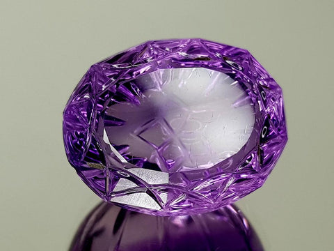 24.13CT NATURAL AMETHYST PRECISION CUT IGCAMPP29