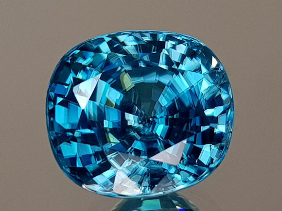 5.35CT NATURAL BLUE ZIRCON BEST GRADE IGCBZS06 - imaangems17