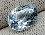 6.75CT AQUAMARINE UNHEATED GEMSTONES IGCNAQ13