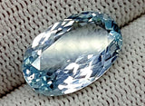 8.65CT AQUAMARINE UNHEATED GEMSTONES IGCNAQ07