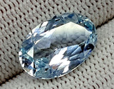 5.85CT AQUAMARINE UNHEATED GEMSTONES IGCNAQ12