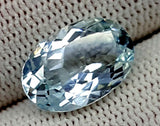 6.55CT AQUAMARINE UNHEATED GEMSTONES IGCNAQ14