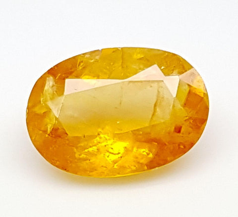1.45CT ULTRA RARE CLINOHUMITE OF TAJIKISTAN IGCRC13