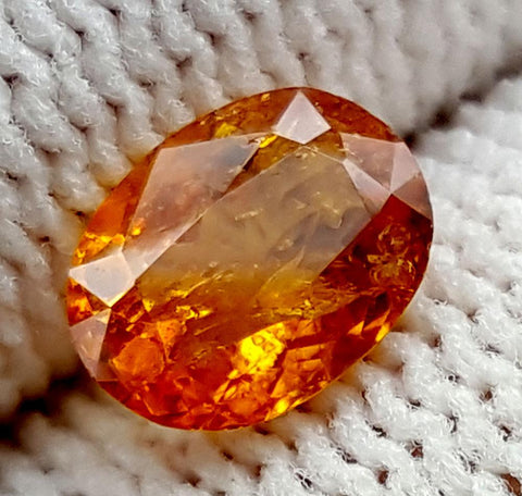 1.1CT ULTRA RARE CLINOHUMITE OF TAJIKISTAN IGCRC31