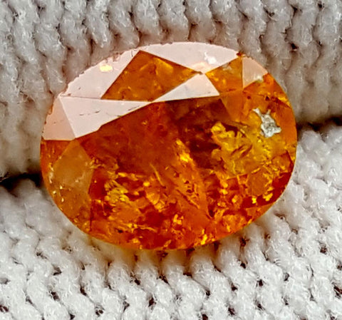 1.2CT ULTRA RARE CLINOHUMITE OF TAJIKISTAN IGCRC39