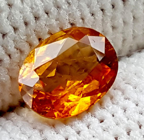 0.85CT ULTRA RARE CLINOHUMITE OF TAJIKISTAN IGCRC43