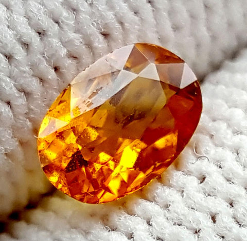 0.8CT ULTRA RARE CLINOHUMITE OF TAJIKISTAN IGCRC51