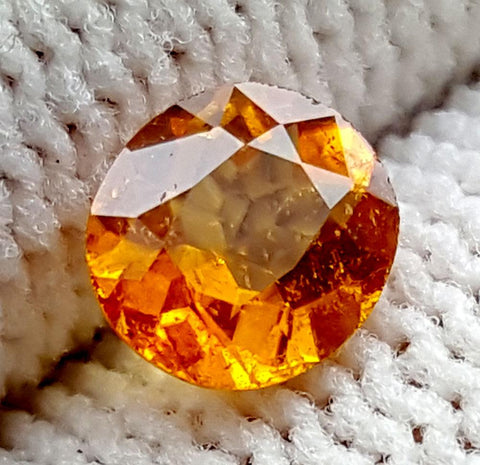 0.65CT ULTRA RARE CLINOHUMITE OF TAJIKISTAN IGCRC54