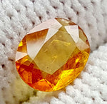 0.6CT ULTRA RARE CLINOHUMITE OF TAJIKISTAN IGCRC61