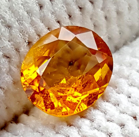 0.6CT ULTRA RARE CLINOHUMITE OF TAJIKISTAN IGCRC62