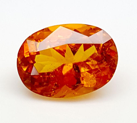 2.1CT ULTRA RARE CLINOHUMITE OF TAJIKISTAN IGCRC06