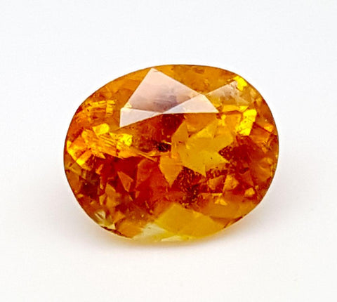 1.4CT ULTRA RARE CLINOHUMITE OF TAJIKISTAN IGCRC09