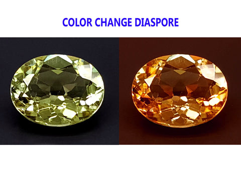 2.6CT DIASPORE COLOR CHANGE ZULTANITE IGCDS11