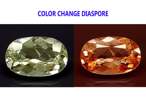 2.5CT DIASPORE COLOR CHANGE ZULTANITE IGCDS12