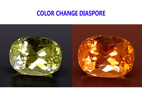 2.85CT DIASPORE COLOR CHANGE ZULTANITE IGCDS13