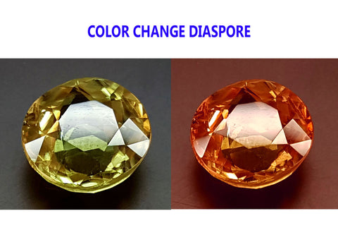 4.1CT DIASPORE COLOR CHANGE ZULTANITE IGCDS14