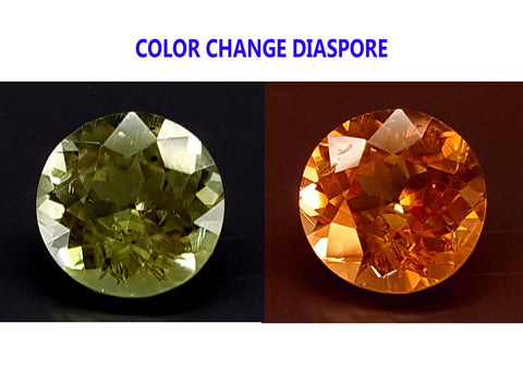 2CT DIASPORE COLOR CHANGE ZULTANITE IGCDS15