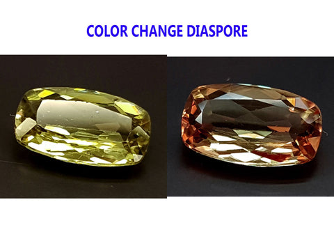 2.55CT DIASPORE COLOR CHANGE ZULTANITE IGCDS16