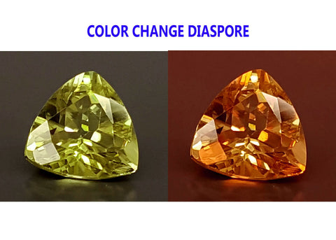 2.1CT DIASPORE COLOR CHANGE ZULTANITE IGCDS17