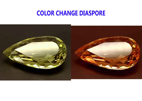 3.35CT DIASPORE COLOR CHANGE ZULTANITE IGCDS18