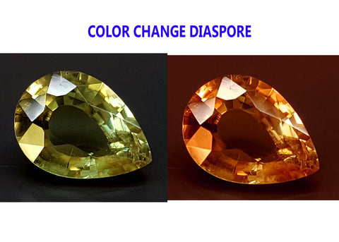2.25CT DIASPORE COLOR CHANGE ZULTANITE IGCDS19