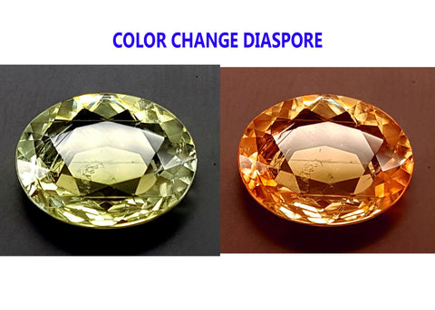 4.75CT DIASPORE COLOR CHANGE ZULTANITE IGCDS20
